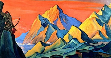 : Message From Shambhala - Arrow Letter - 1946, by Nicholas Roerich