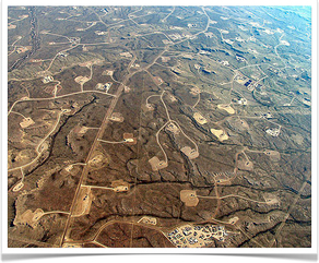 Picture: Fracking in Wyoming