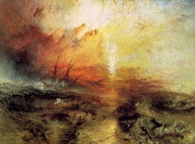 Picture: JMW Turner, Slave Ship 1840